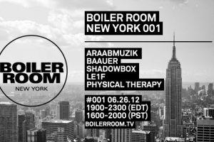 ShadowBox at 1st Boiler Room NYC