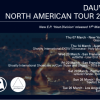 Dauwd US Dates 2013