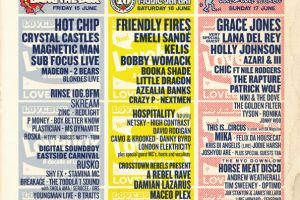 Dauwd and Lapalux at Lovebox